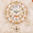 Europa Country Style Wall Clock with Pendulum