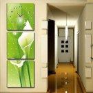 Modern Scenic Wall Clock in Canvas 3pcs S3002(30cm*30cm)