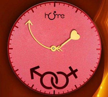 New Cohabitation Ages Wall Clock