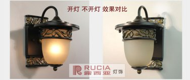 60W Antique Inspired Wall Light OW096B