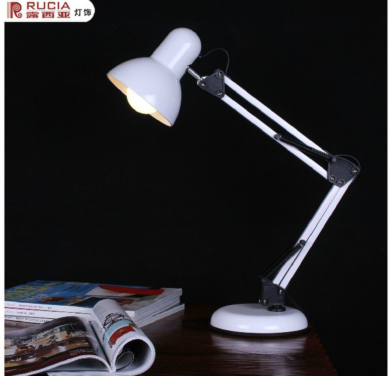 Table Lamp LED Collapsible Light Source Integration