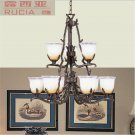 American-Style Classic 9 Light Chandelier CH049-9-03