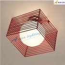 Modern style Art Flush Mount with 1 Lights 30241C RED or Black