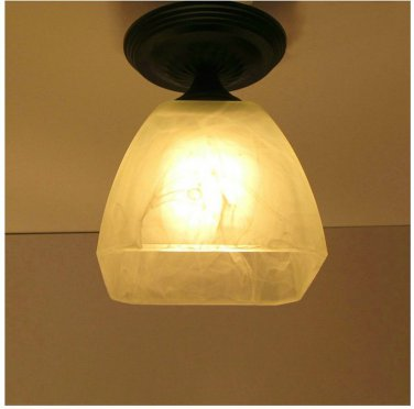 comtemporary style  Flush Mount with 1 Lights 8007/1X