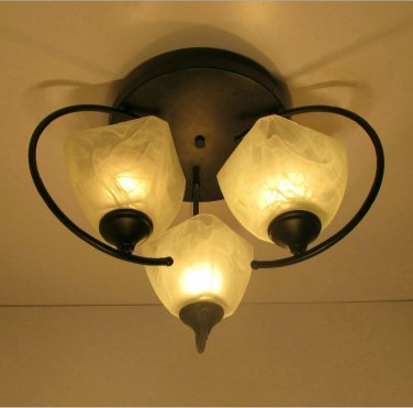 comtemporary style  Flush Mount with 3 Lights 80193X