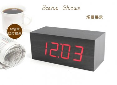 Voice Control Alarm Clock - CJR03