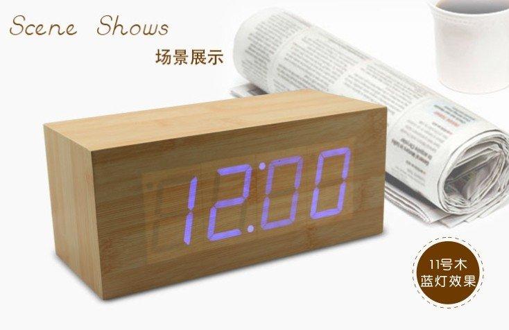 Voice Control Alarm Clock - CJB02