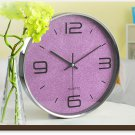 "12""H Modern Style Brief Mute Wall Clock - LEYU8014-3"