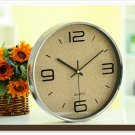 "12""H Modern Style Brief Mute Wall Clock - LEYU8014-6"