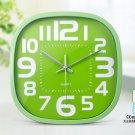 """12""""H Brief Oval Mute Wall Clock - LEYU6393-3"""