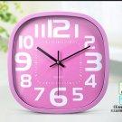 """12""""H Brief Oval Mute Wall Clock - LEYU6393-4"""