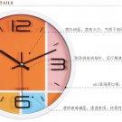 "12""H Modern Style Mute Wall Clock - LEYU6096-2"