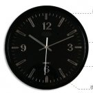 "12""H Brief round Modern style Mute Wall Clock - LEYU6003-1"
