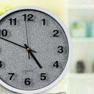 "12""H Brief Round Mute Wall Clock - LEYU6301-2"