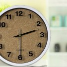 "12""H Brief Round Mute Wall Clock - LEYU6301-4"