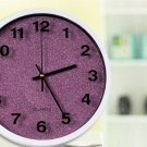 "12""H Brief Round Mute Wall Clock - LEYU6301-5"