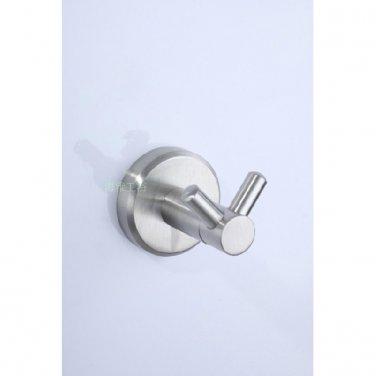 Stainless Steel Bathroom Accessories Satin finish Robe Hook 7608B