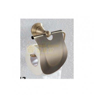 Bathroom Brass Paper Towel Holder antique brass finish 2412