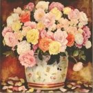 Stretched Canvas Print Still Life Classic Style - W002
