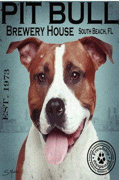 Dog Breed Animal Canvas Print - MPF001