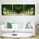 Stretched Canvas Art Landscape Green Tree Set of 3 - YAYI006