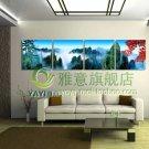 Stretched Canvas Art Landscape Mountain Set of 4 - YAYI103