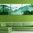 Stretched Canvas Art Landscape Mountain Set of 3 - YAYI104