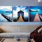 Stretched Canvas Art Landscape Set of 3 - YAYI303