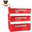 3 sets Compartment Soft Lid Underwear Storage Box---BM-0178