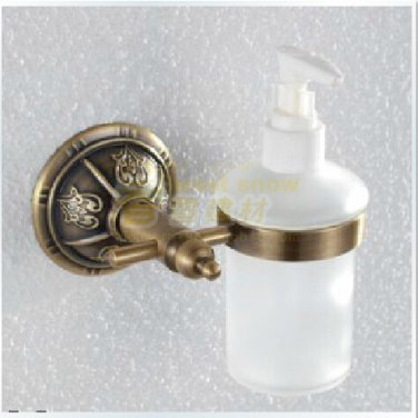 Anitique Brass  Finish Contemporary Style Soap Dispenser --- 1311