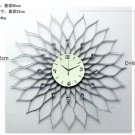 Artistic Wall Clock in Floral Featured Design