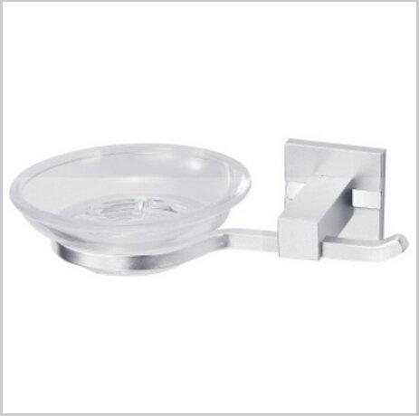 Bathroom Accessories Aluminium Soap Dish Holder Chrome Finish 1416