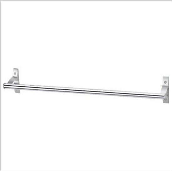 Contemporary Aluminium Chrome Finish  Single Towel Bar 583