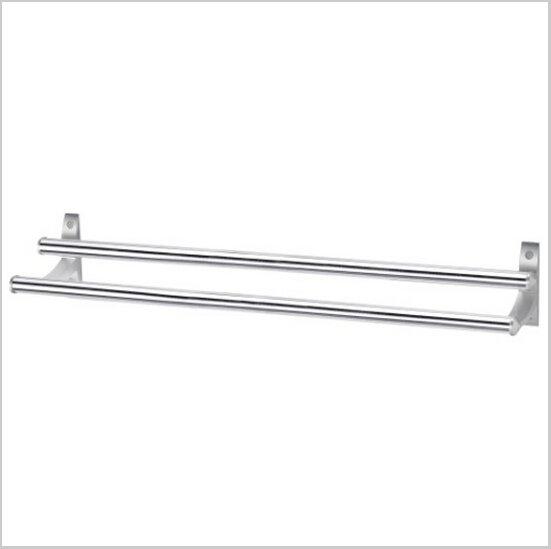 Modern Aluminium  Double Wall Mount Towel Bar   584