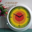 """15""""H Retro Style Metal Wall Clock - YGMW(BOLI034JYW)"""
