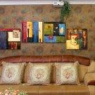 Modern Style Scenic Canvas Wall Clock 4pcs - MPF(K043041)