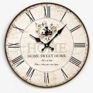 "14""Euro Country Wall Clock - YGMW14001"