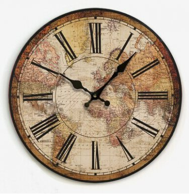 """14""""Euro Country Wall Clock - YGMW14003"""