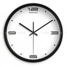 "12"" Modern Style Wall Clock in Stainless Steel - TUMA(BT201B)"
