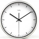 "12"" Modern Style Wall Clock in Stainless Steel - TUMA(BZ115S)"