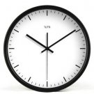 "12"" Modern Style Wall Clock in Stainless Steel - TUMA(BZ115B)"