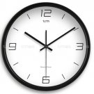 "12"" Modern Style Wall Clock in Stainless Steel - TUMA(BT204B)"
