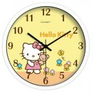 "10"" Cartoon Style Wall Clock in Stainless Steel-FEITAO(KT354W)"
