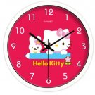 "10"" Cartoon Style Wall Clock in Stainless Steel-FEITAO(KT324W)"