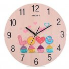 Originality Wall Clock Love Wedding Clock Mute LC1106