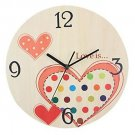 Originality Wall Clock Love Wedding Clock Mute LC1107