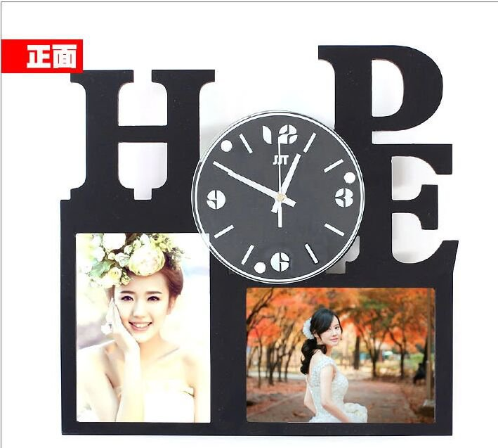 Wall Clock with Fashion Picture Frame Function Design - S129