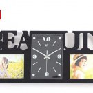Wall Clock with Fashion Picture Frame Function Design - S132