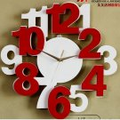 Modern Design Numbers Wall Clock - M1075W