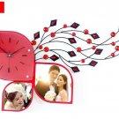 Fashionable Creative Modern Novelty Shape Sitting Room Wall Clock - S141R